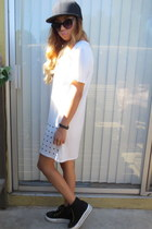 skirt dress Tobi dress - platforms sneakers