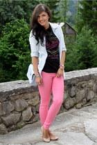 Vero Moda pants - Diesel shirt - H&M shirt - Primark bag