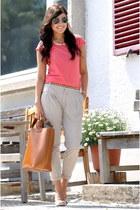 Zara shirt - Zara bag - Zara pants