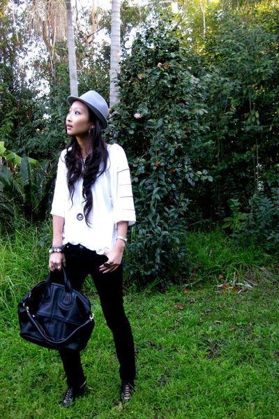 Ladakh shirt - Bettina Liano jeans - George Jenson accessories - vintage hat - G