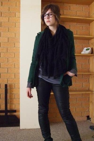 blazer - jeans - top - shoes