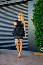black sunnies zeroUV accessories - black Stradivarius skirt