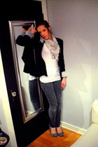 Double zero blazer - American Eagle scarf - American Eagle accessories - Charlot