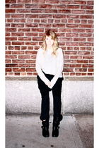 allsaints sweater - weekday pants - Dolce Vita boots