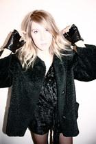 vintage coat - KATE MOSS x TOPSHOP jumper