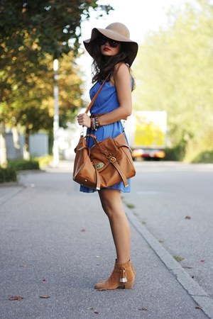 blue inlovewithfashion dress