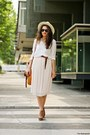 Camel-h-m-hat-white-zara-shirt-brown-ebay-bag-brown-zara-wedges-nude-h-m