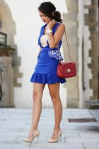 blue Choies dress