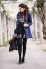 Navy-lookbookstore-jacket-dark-brown-primark-scarf-black-prada-bag