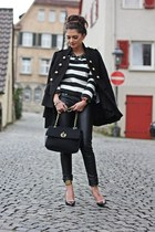 black Moschino bag