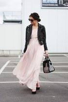 nude lookbookstore dress - black lookbookstore bag - black Georgia Rose pumps