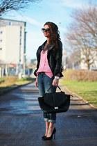 black Prada sunglasses