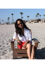 Red-madewell-skirt-white-forever-21-blouse-camel-tory-burch-sandals