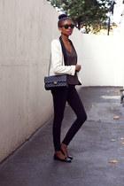 black skinny Topshop pants