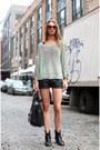 Heather-gray-h-m-sweater