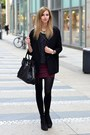 Black-vagabond-boots-black-choies-coat-gray-oasap-sweater