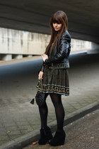black The Very Best of Versace for H M skirt