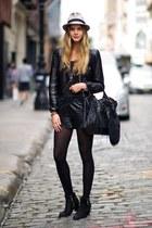 black Topshop boots