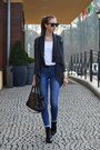 Black-vagabond-boots-blue-topshop-jeans-gray-vjstyle-sweater