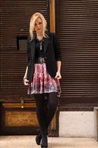 vintage jacket - vintage skirt