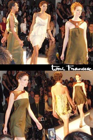 green Toni Francesc dress