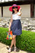 Pink-ralph-lauren-hat-blue-forever-21-dress-white-nine-west-shoes-brown-ni