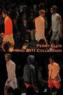 orange Perry Ellis shirt