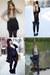 Black-random-dress