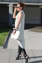 bulgari watch - summer bronx boots - tunic H&M dress