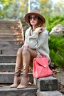 Neutral-zara-shoes-brown-zara-hat-neutral-h-m-jumper