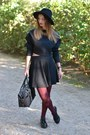 Black-zara-hat-black-burberry-bag-black-zara-top-black-h-m-skirt