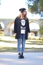 black Ebay boots - black Ebay sweatshirt