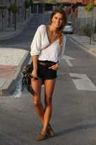 blouse - shorts