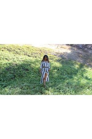 striped DressLink dress - western Boohoo belt