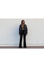 Sammydress-sweater-crop-lace-missguided-top-black-flare-forever-21-pants