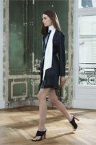 black Celine dress - black Celine shoes