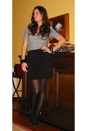 Zara shirt - Zara skirt - Zara boots