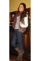 Pimkie vest - Stradivarius boots - Zara coat