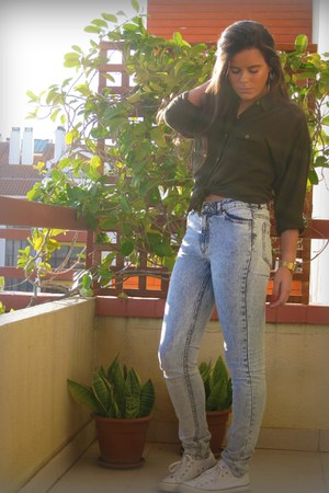 H&M jeans - Bershka blouse