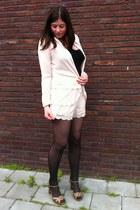 conscious collection H&M blazer - conscious collection H&M shorts - Ebay heels