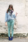 Blue-necessary-clothing-wedges-mutlicolor-david-young-scarf
