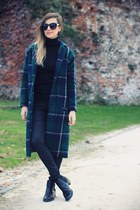 forest green JollyChic coat