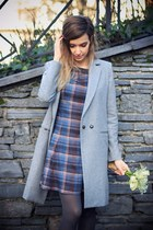 heather gray Oasapcom coat