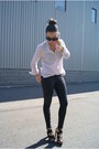 Zara-top-rag-bone-pants-bcbg-heels