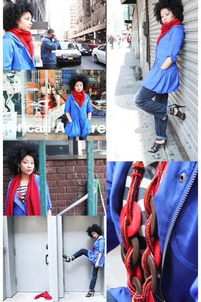Soho boutique jacket - boyfriend jeans Lucky Brand jeans