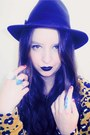 Black-big-w-boots-yellow-evil-twin-dress-black-temt-hat-turquoise-blue-div