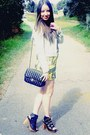 Obesity-and-speed-dress-denim-glassons-jacket-vintage-gifted-chanel-bag-sp