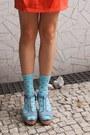 Beige-monki-hat-carrot-orange-h-m-bag-aquamarine-h-m-socks-eggshell-topsho