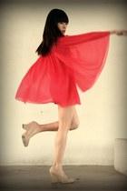 Topshop dress - Jeffrey Campbell heels
