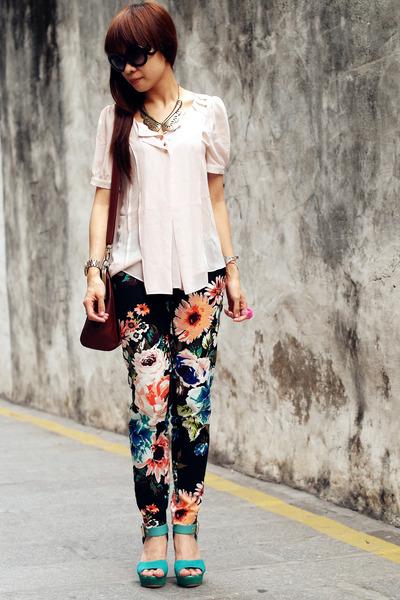 VANCL blouse - H&M pants